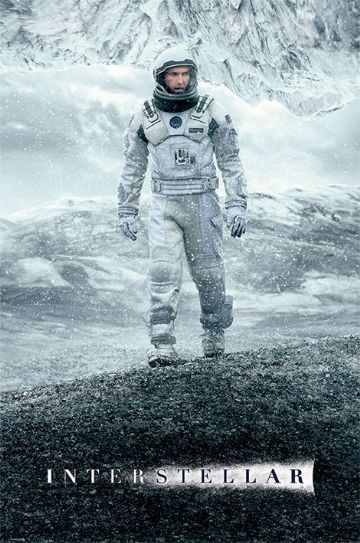 Interstellar Ice Walk Maxi Poster